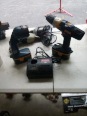 Ryobi 18 volt drill with a flashlight for Sale in Billerica, MA