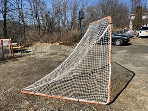 Lacrosse goals, 6 x 6, used Light weight practice and heavy regulation goals for Sale in Wingdale, NY