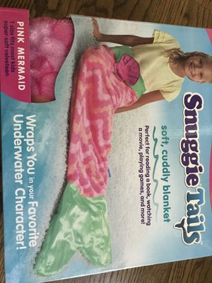 snuggie tails cuddly bkanket for Sale in Concord, NC