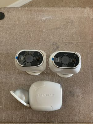 Netgear home security cameras for Sale in Tampa, FL