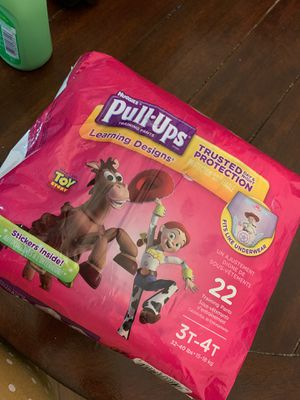 Huggies Pull Ups 3T-4T for Sale in Tempe, AZ