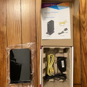 Netgear High Speed Cable Modem CM500 for Sale in Brooklyn, NY