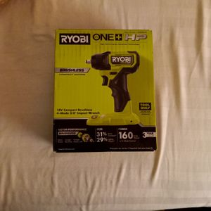 "Ryobi 18v Compact Brushless 4-mode 3/8"" IMPACT WRENCH for Sale in Phoenix, AZ"