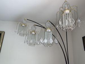 Glass floor lamp for Sale in Woodstock, VA