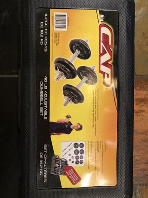Adjustable dumbbells for Sale in Plymouth, MI
