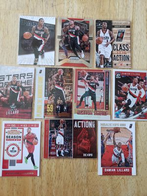Damian Lillard Portland Blazers NBA basketball cards for Sale in Gresham, OR