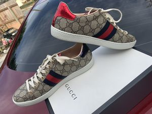 Gucci Sneakers Size 38 G Which Is Size 9 In Women for Sale in West Palm Beach, FL