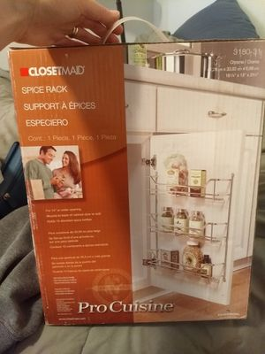 Kitchen storage spice rack closetmaid for Sale in Los Angeles, CA
