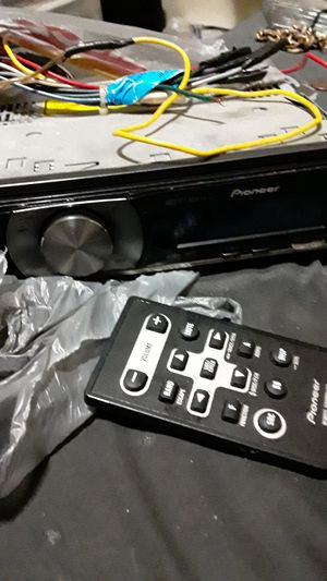 Pioneer car stereo system works perfectly came out of car I had to scrap but system works as should for Sale in Auburndale, FL
