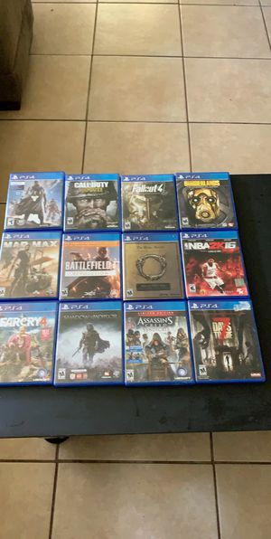 PS4 games for Sale in Little Elm, TX