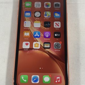 Apple iPhone XR 128GB Unlocked Coral Apple Care+ for Sale in Spring Hill, FL