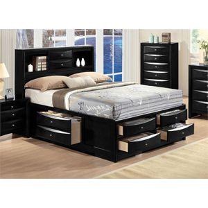 Queen Black bed set for Sale in Philadelphia, PA