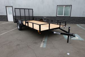 "DV Trailers Utility 77""x14' with ramp for Sale in Stanton, CA"