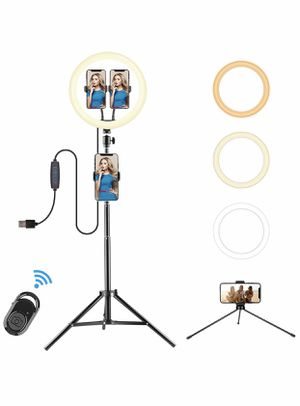 "12"" selfie ring light for Sale in Cupertino, CA"