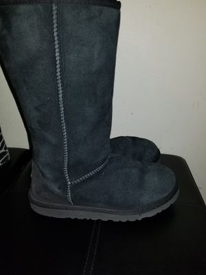 Black tall Uggs size 3 kids for Sale in Richmond, VA