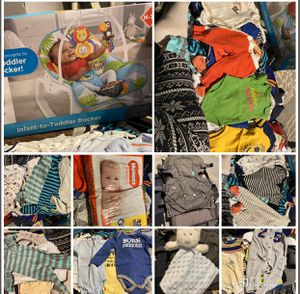 Boy clothes 3-6 months and more for Sale in Tonawanda, NY