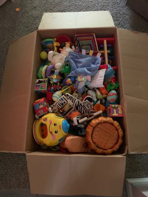 A huge box of kids toys!! for Sale in Saint Petersburg, FL