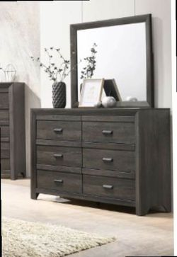Queen bed frame. Dresser. Mirror. One night stand. Check the description for Sale in Pomona,  CA