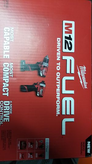 Brand New m12 fuel 2 tool combo kit for Sale in Acworth, GA