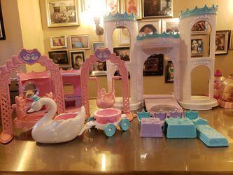 Lot Of 28 Piece Playskool Krystal Princess Lot 1992 for Sale in Eastpointe, MI
