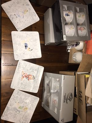 disney dishes. 8 plates & 8 mugs! Brand new! for Sale in Olivette, MO