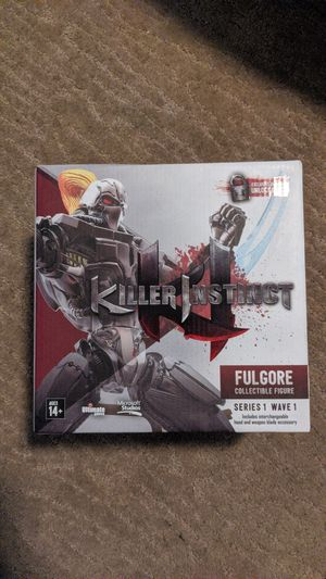 Killer instinct fulgore collectible action figure brand new in box for Sale in Los Angeles, CA