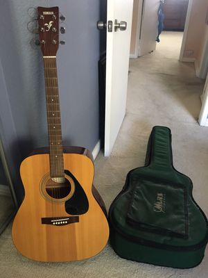 Yamaha guitar and gig bag for Sale in San Diego, CA