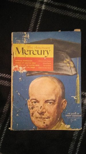The American Mercury Magazine for Sale in Chandler, IN