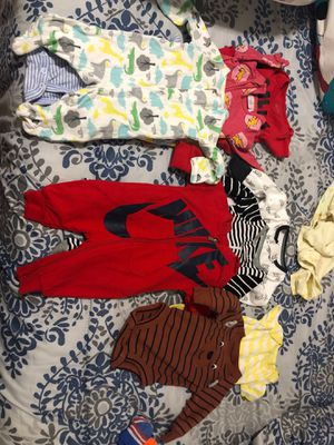 Nb baby boy clothes for Sale in San Jose, CA