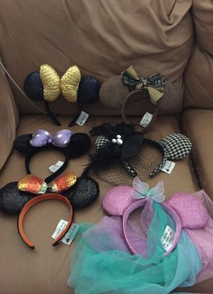Minnie Mouse Ears from Disneyland for Sale in Corona, CA