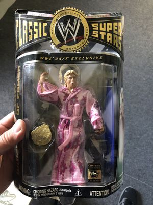 Wwe ric flair action figure new in nox for Sale in Milford, CT