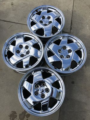 3000gt/stealth chrome stock rims for Sale in Bell Gardens, CA