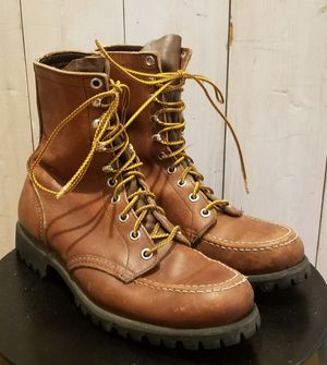 Red Wing Heritage Work or Hiking Boots in copper rough & tough leather. Made in the U.S. for Sale in Snohomish, WA