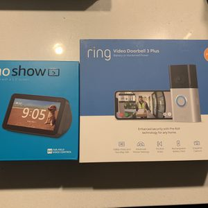 Ring 3 plus camera + echo show 5 for Sale in South El Monte, CA