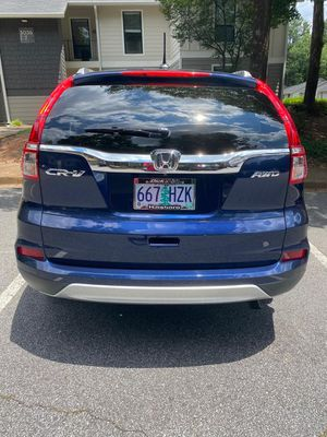 2016 Honda CRV Exl with navigation system for Sale in Smyrna, GA