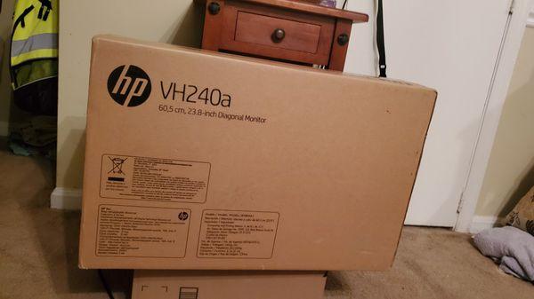 "HP Vh240a 24"" 1080p IPS 60hz Monitor"