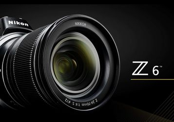 Nikon Z6 Full frame Mirrorless With Lenses, And Adapter for Sale in Sacramento,  CA