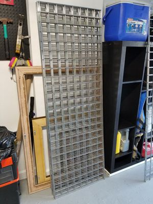 Wire grid wall shelving system for Sale in Holiday, FL