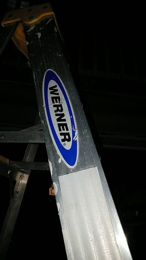 Werner 8 foot aluminum ladder for Sale in Seattle, WA