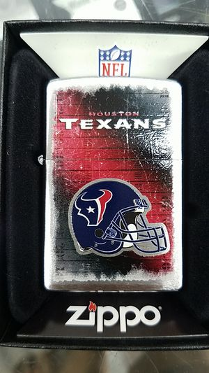 Zippo NFL Texans brushed chrome 28225 for Sale in Los Angeles, CA