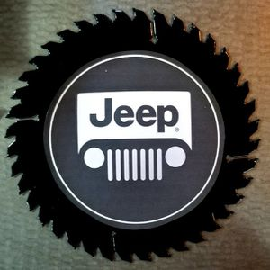 Jeep Decorative Saw Blade for Sale in Olympia, WA