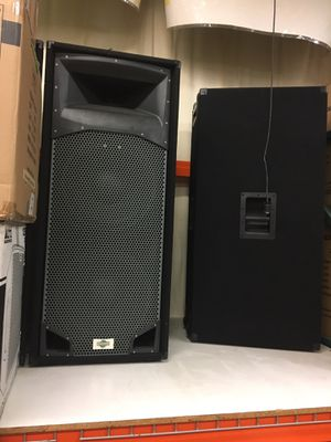 "Pro audio 2 18"" and big horn for Sale in San Leandro, CA"