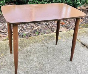 Vintage Antique Mid Century MCM Wood Accent Side End Nightstand Table Home Decoration for Sale in Raleigh,  NC