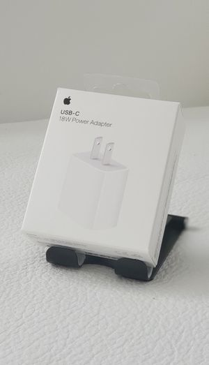 Apple 18W USB-C Rapid Power Adapter $10 for Sale in Miami, FL