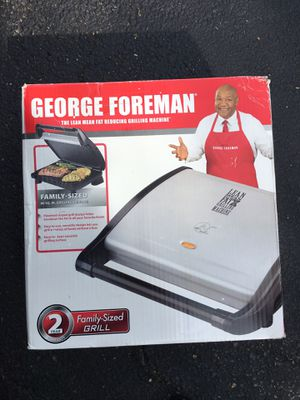 George Forman Portable Grill for Sale in Old Mill Creek, IL