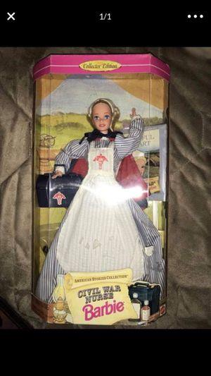 New civil war nurse barbie for Sale in Sacramento, CA