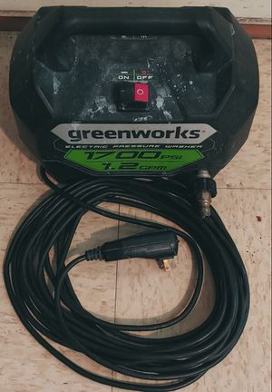 Pressure washer greenworks° for Sale in Vernonburg, GA