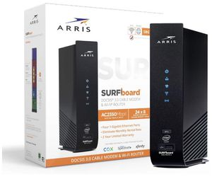 ARRIS SURFboard SBG7400AC2 DOCSIS 3.0 Cable Modem Dual-Band Wi-Fi Router for Sale in Mesa, AZ