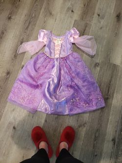 Rapunzel Dress Size 5/6 for Sale in Mount Hamilton,  CA