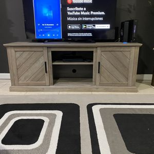 Homenations Tv Stand With Storage for Sale in Lawrenceville, GA